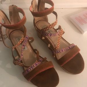 Steve Madden Girls Wedge Sandals